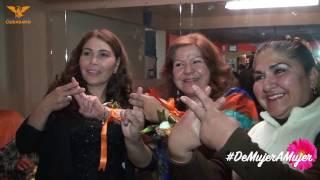 Marina convivio de #MujerAMujer