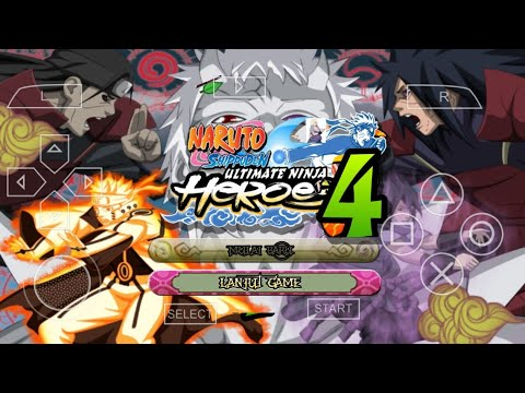 [NSUNH3 Mod] Naruto Ultimate Ninja Heroes 4  Heroes 3 PPSSPP Android Download