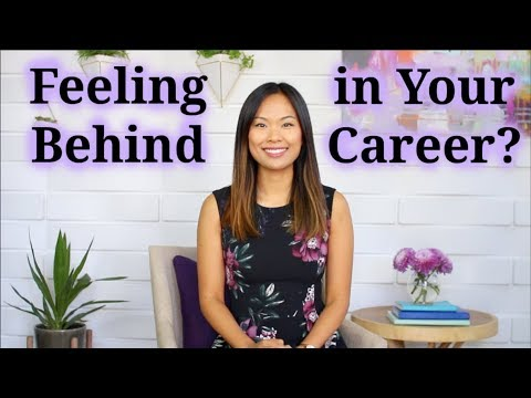 Career Advice (If You're Feeling Behind in Your Career)