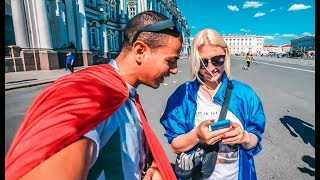 VLOG 89 - #TORUSSIAKAMLINE اول يوم في كأس العالم روسيا-السعودية  - FIRST DAY OF THE WORLD CUP