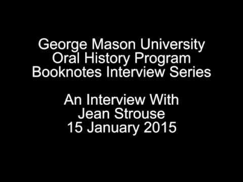 Interview with Jean Strouse, January 15, 2015