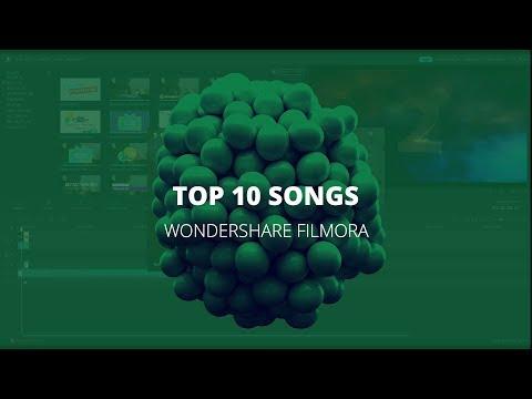 Wondershare Filmora - Tips and Tricks - Top 10 songs