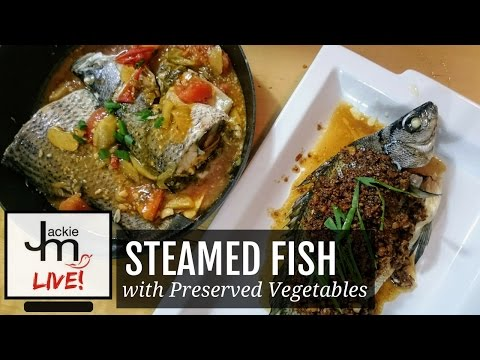 LIVE Replay - How to Cook Steamed Fish with Preserved Vegetables