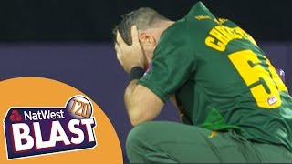 Unbelievable Finish As Missed Run Out Gives Bears Victory - Birmingham v Notts T20 Blast 2017 streaming