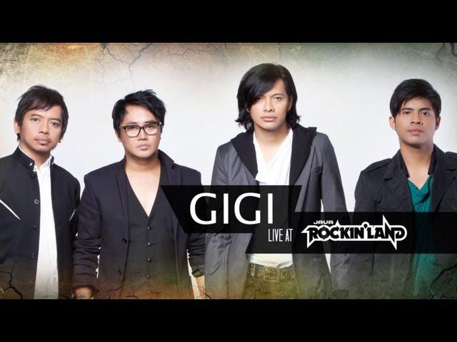 GIGI Live at Java RockingLand 2013