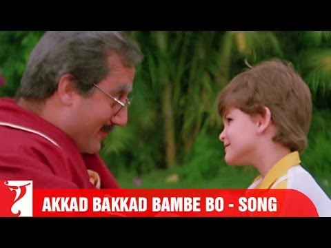 Akkad Bakkad Bambe Bo Song | Vijay | Anil Kapoor | Rishi Kapoor | Anupam Kher