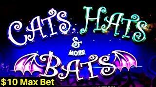 Lock It Link - Cats, Hats & More Bats Slot $10 Bet BONUSES Won | Dragon Rising Slot Envelope Jackpot
