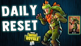FORTNITE DAILY SKIN RESET!! REX SKIN BABY!! Fortnite Battle Royale New Skins in Item Shop