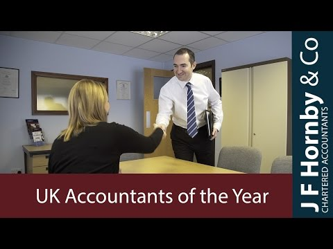 UK Independent Accountants of the Year - JF Hornby & Co Chartered Accountants