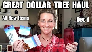 Dollar Tree Haul | All NEW Items| Update Dec 1st