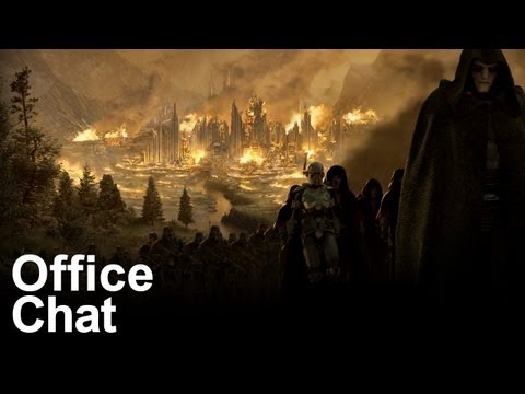 Office Chat: Star Wars' Old Republic morality, customized toys