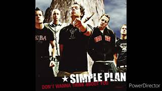Simple Plan - Don't Wanna Think About You 432hz