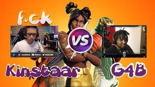 KINSTAAR doesn't like G4B? SKITE stinks of Mdr !!! Fortnite Best #4 Moments