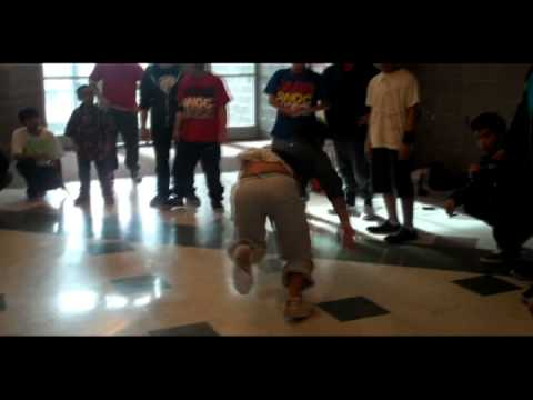 Northwest Middle School Breakdancing
