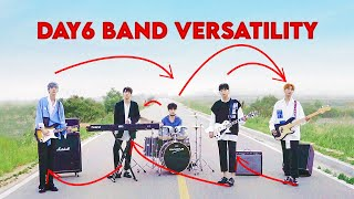 DAY6 and their versatility as a band