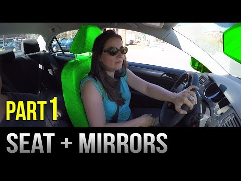 Setting Up Before Driving - Seat and Mirrors