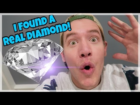 I FOUND A REAL DIAMOND!