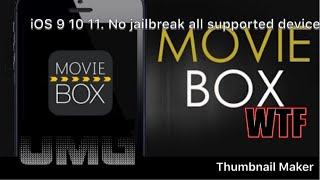 How to get movie box no jailbreak free movies and everything