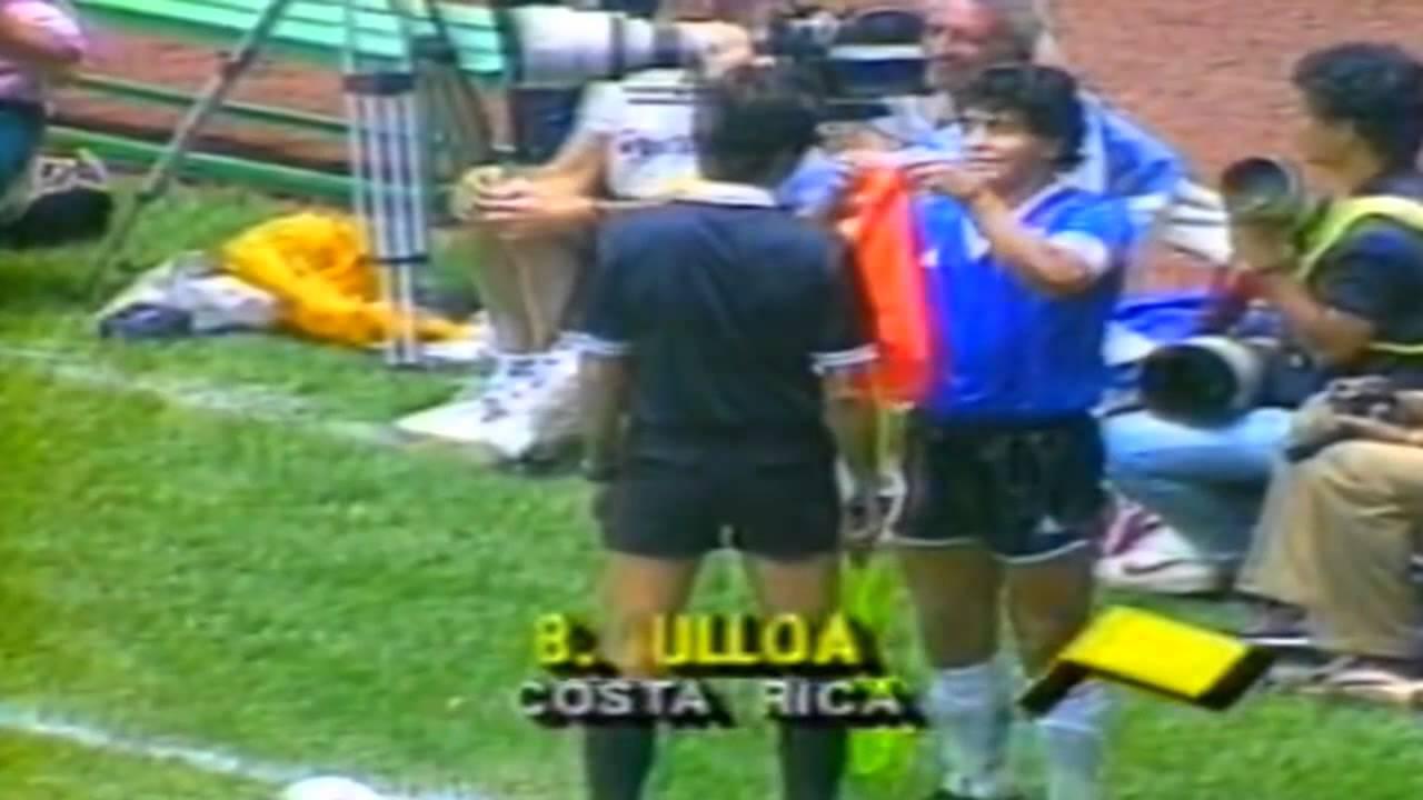 Argentina 2 X 1 Inglaterra Cuartos De Final De La Copa Del Mundo De 1986 Youtube