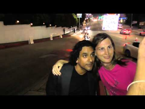Naveen Andrews at the Netflix Emmy Award After Party at Chateau Marmont in West Hollywood