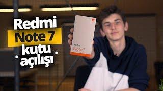 1.999 TL'lik Redmi Note 7 kutusundan çıkıyor - 48 Megapiksel kamera!