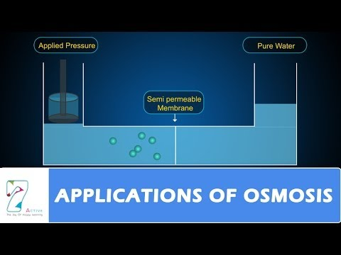 APPLICATIONS OF OSMOSIS
