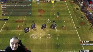 Blood Bowl 2 - RETURN OF THE KING Game 2 - Wood Elves vs. Ogres