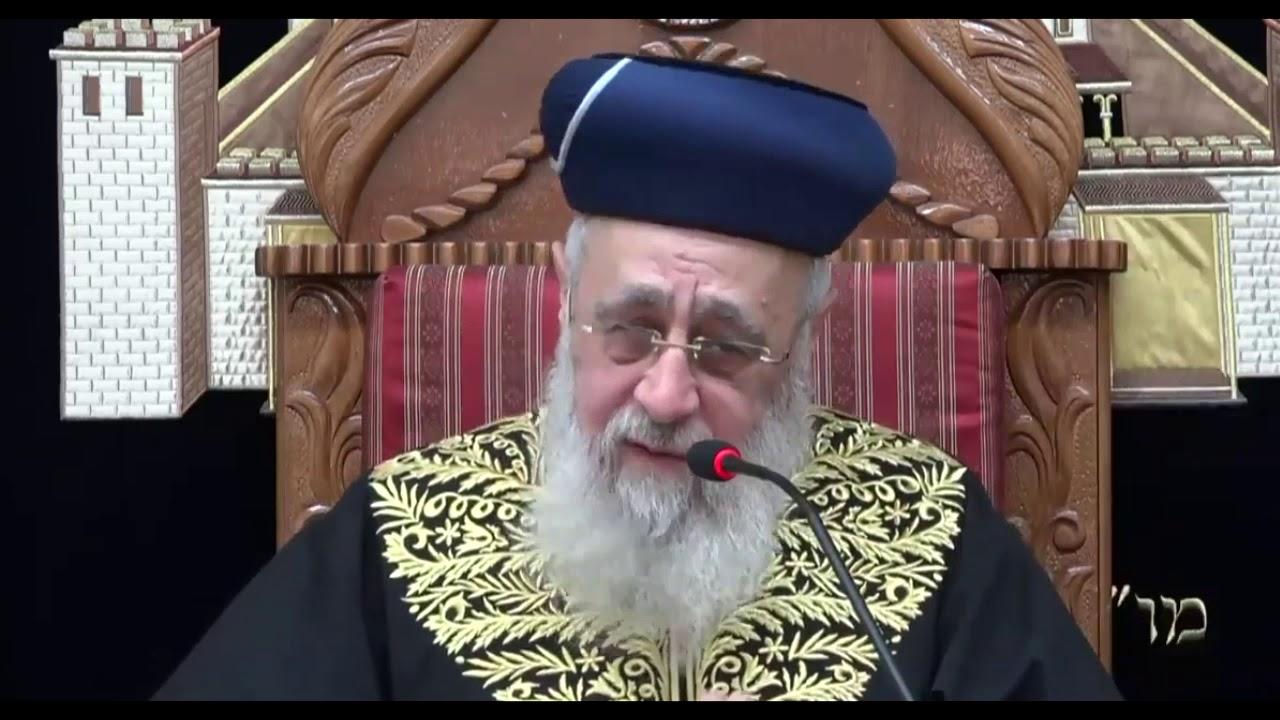 """הראש""""ל רבי יצחק יוסף: שימוש בדוד שמש בשבת"""