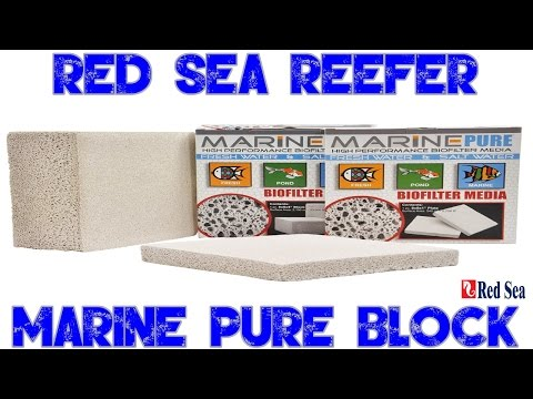 Red Sea Reefer 250 | Marine Pure Block | Reef Tank Biological Filtration