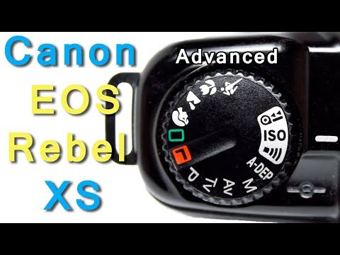 How To Use Advanced Functions Canon EOS Rebel X S SLR Film Camera, EOS Kiss, EOS 500
