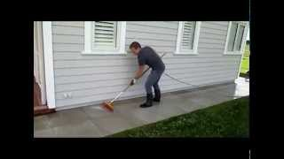 Premier How to acid wash Drycast Paving Stones