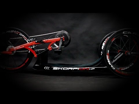 SKORPION racing handcycle from Sport-On (handbike)