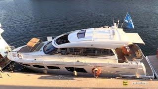 2012 Prestige 500 S Motor Yacht - Walkaround - 2015 Montreal In Water Boat Show