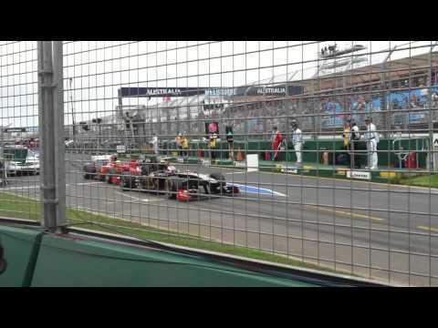 Australian Formula 1 F1 GP Melbourne 2011