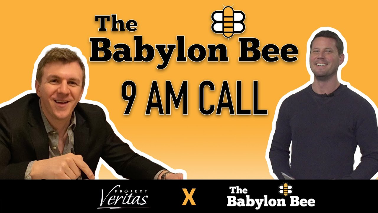 Project Veritas EXPOSES The Babylon Bee CEO Seth Dillon during companywide conference call