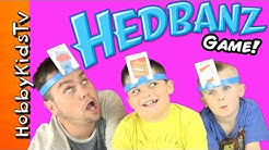Hedbanz Guessing Game with HobbyFamily