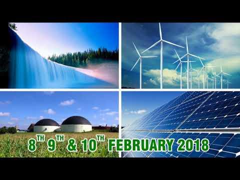 Solar energy system  Renewable expo2018