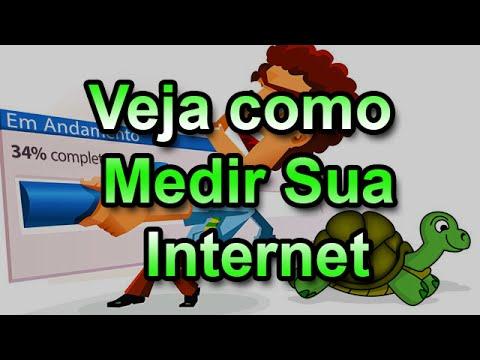 Veja como medir a internet em tempo real net vivo claro tim oi nextel e outros