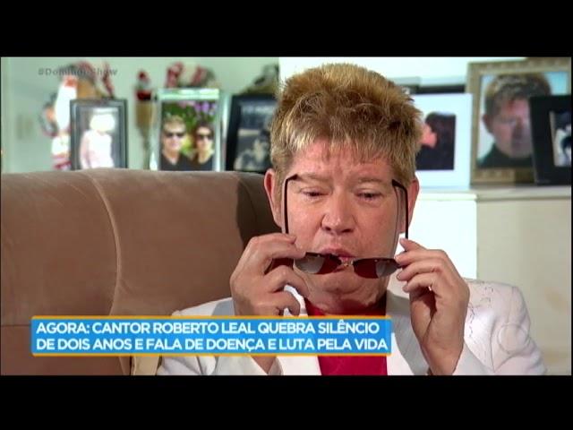 Roberto Leal recebe Geraldo Luis em sua casa e quebra silêncio de dois anos