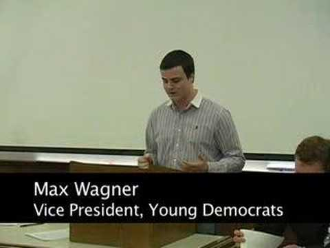 Young Democrats vs. College Republicans: Winter Debate