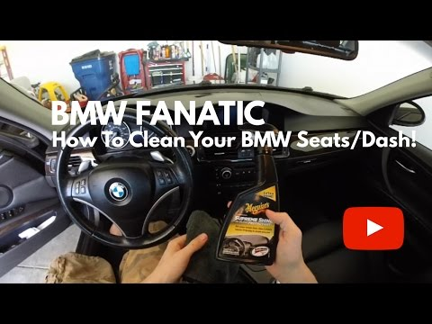 How To Clean Your BMW Leather Seats & Dash - DIY!