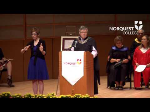 2017 NorQuest College convocation (AM)