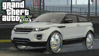 Range Rover Evoque on 26s! GTA 5 Real Hood Life 3 #25