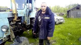 Ta'mirlash t-40, qabul qiluvchi, traktor ulang.