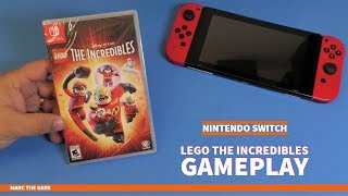 Nintendo Switch Lego: The Incredibles Gameplay