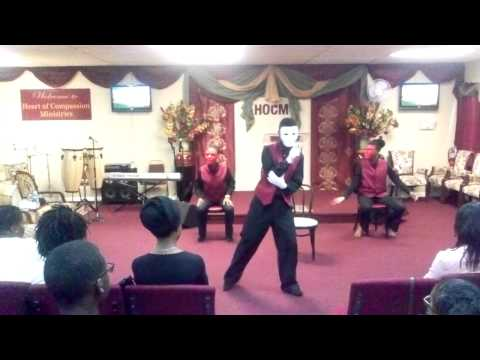 J Moss-  good and bad mime dance