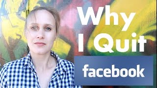 Why I Quit Facebook... thumbnail