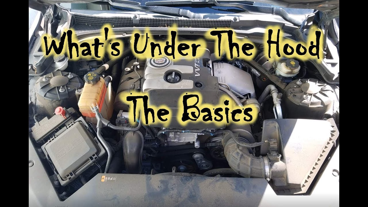 What\'s Under The Hood - Names of Basic Car Parts and What They Do ...