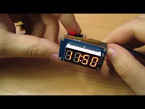 TM1637 Display - ArduinoForumde
