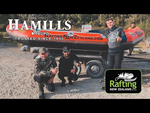 Rafting, Fishing And Hunting The Tongariro River With Taupo Hamills And Rafting New Zealand
